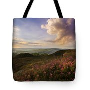 Heather Sunset Tote Bag