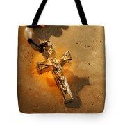 Heavenly Light Rosary  Tote Bag