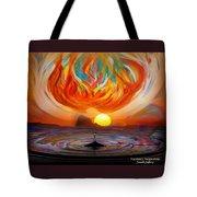 Heaven Come Down Tote Bag