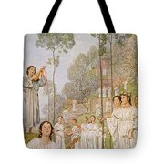 Heaven Tote Bag by Hans Thoma