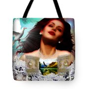 Heaven In Me Tote Bag