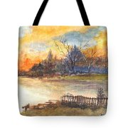 The Serene Sunset Tote Bag