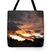 Heaven Reaching Down Tote Bag
