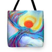 Heaven Sent Digital Art Painting Tote Bag