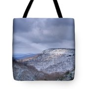 Heavenly Light On The Mesa Tote Bag