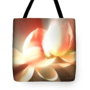 Heavenly Lilies Tote Bag