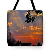Heavenly Rays Two Tote Bag