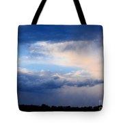 Heavenly Winter Blues Tote Bag