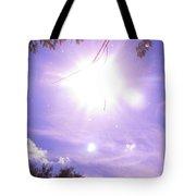 Heavens Blue  Tote Bag