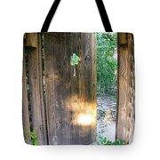 Heavens Door Is Always Open Tote Bag