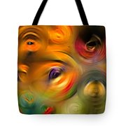 Heaven's Eyes - Abstract Art By Sharon Cummings Tote Bag