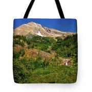 Heavens Peak Glacier International Peace Park Tote Bag