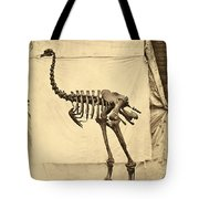 Heavy Footed Moa Skeleton Tote Bag