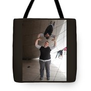 Heavy Lifting Tote Bag