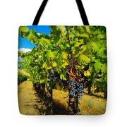 Heavy On The Vine At The High Tower Winery  Tote Bag