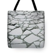 Heavy Pack Ice Terre Adelie Land Tote Bag
