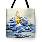 Heavy Seas Tote Bag