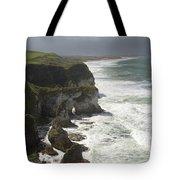 Heavy Surf On The Irish Coast Tote Bag
