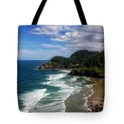 Heceta Head Tote Bag by Darren  White