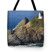 Heceta Head Lighthouse 2 F Tote Bag