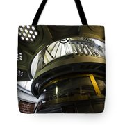 Heceta Head Lighthouse Interior 3 Tote Bag