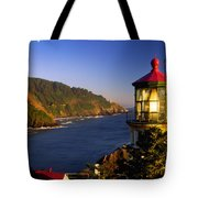 Heceta Head Moonrise Tote Bag