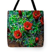 Hedgehog In Bloom Tote Bag