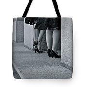 Heels And Lace Tote Bag