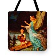 Heiliger Schutzengel  Guardian Angel 11 Oil Tote Bag