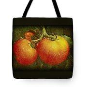 Heirloom Tomatoes On The Vine Tote Bag