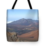 Heleakala Volcano In Maui Tote Bag