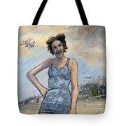 Helen Of Troy Vs Sputnik Tote Bag