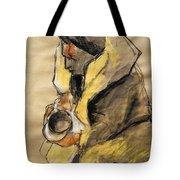 Helene #10 - Figure Series Tote Bag