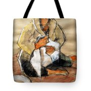 Helene #13 - Figure Series Tote Bag