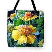 Helenium Flowers 1 Tote Bag