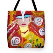 Helianna - Angel Of Divine Serenity Tote Bag