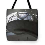 Helical Staircase Tote Bag