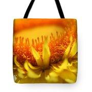Helichrysum Bracteatum Named Strawburst Yellow Tote Bag