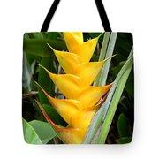 Heliconia Caribea Tote Bag