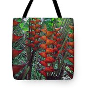 Heliconia Haven Tote Bag