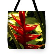 Heliconia II Tote Bag