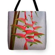 Heliconia Platystachys Tote Bag