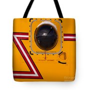 Helicopter Porthole Window Mirrors Rotor Blade Tote Bag