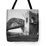 Hell Gate Bridge Tote Bag