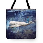 Hell Of A Flight Tote Bag