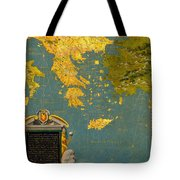 Hellenic Peninsula Greece Albania Bosnia And Bulgaria Tote Bag