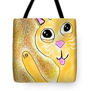 Hello Little Kitty Tote Bag