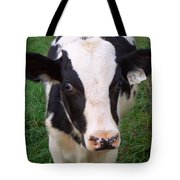 Hello My Name Is Cow Tote Bag
