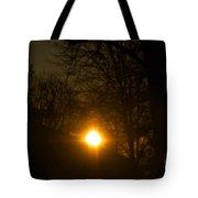 Hello Springtime Sunrise Tote Bag