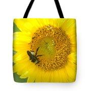 Hello Sunflower Tote Bag